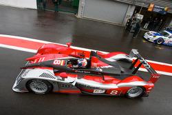 #8 Audi Sport Team Joest Audi R15 TDI: Marcel Fässler, Andre Lotterer, Benoit Treluyer