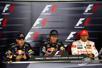 Sebastian Vettel, Red Bull Racing, Mark Webber, Red Bull Racing, Lewis Hamilton, McLaren Mercedes