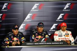 Sebastian Vettel, Red Bull Racing, Mark Webber, Red Bull Racing, Lewis Hamilton, McLaren Mercedes