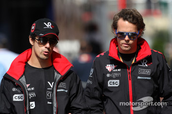 Lucas di Grassi, Virgin Racing, Andy Soucek