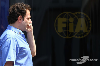 Matteo Bouciani, press officer for Jean Todt, FIA President