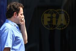 Matteo Bouciani, press officer for Jean Todt, FIA President
