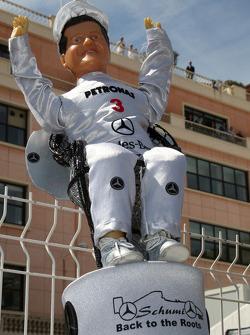 A fan of Michael Schumacher, Mercedes GP Petronas
