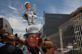 Michael Schumacher, Mercedes GP Petronas fan