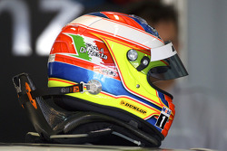 Helmet of Paul di Resta, Team HWA AMG Mercedes