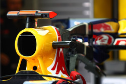 Red Bull air intake for the F-Duct system