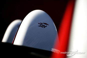 ART logos on the nose cone of Esteban Gutierrez