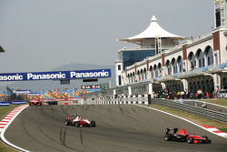 James Jakes leads Esteban Gutierrez