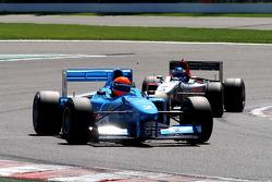 #2 Marijn van Kalmthout, Benetton B197 F1 and #3 Klaas Zwart, Ascari Benetton B197 F1
