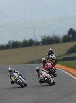 Randy De Puniet, LCR Honda MotoGP and Marco Melandri, San Carlo Honda Gresini