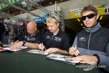 Paul Gentilozzi, Ryan Dalziel and Marc Goossens