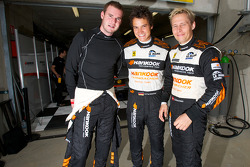 Leh Keen, Dominik Farnbacher and Allan Simonsen