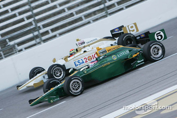 Takuma Sato, KV Racing Technology & Alex Lloyd, Dale Coyne Racing