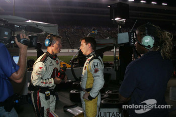 Mario Romancini, Conquest Racing gives an interview after the accident with Helio Castroneves & Mario Moraes