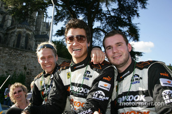 Allan Simonsen, Dominik Farnbacher and Leh Keen