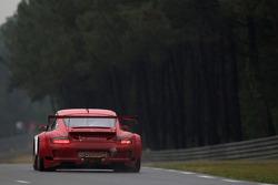 #80 Flying Lizard Motorsport Porsche 911 GT3 RSR: Seth Neiman, Darren Law, Jörg Bergmeister