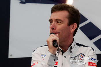 Team Peugeot press conference: Bruno Famin, technical director