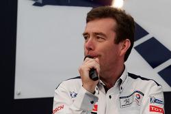 Team Peugeot press conference: Bruno Famin, technical director