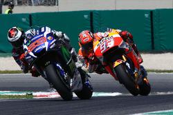 Jorge Lorenzo, Yamaha Factory Racing, Marc Marquez, Repsol Honda Team