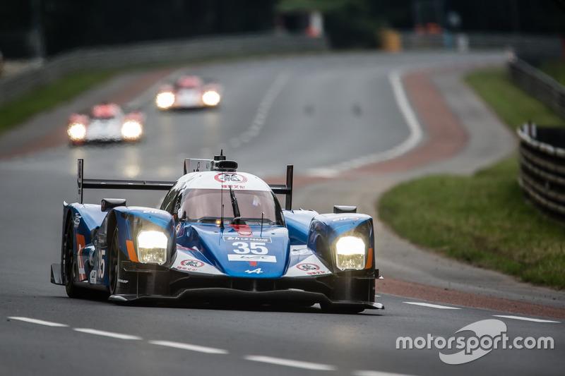 2. LMP2: #35 Baxi DC Racing, Alpine A460 Nissan