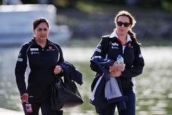 Monisha Kaltenborn, Sauber Team Principal (Left)