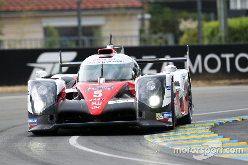 4. LMP1: #5 Toyota Racing, Toyota TS050 Hybrid