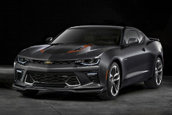 2017 Chevrolet Camaro SS 50th Anniversary Edition unveil
