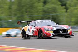 #89 Akka ASP Mercedes AMG GT3: Michael Lyons, Daniele Perfetti, Laurent Cazenave