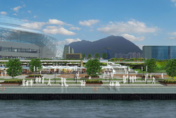 Hong Kong circuit rendering