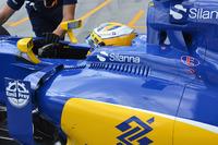 Fórmula 1 Fotos - Marcus Ericsson, Sauber C35 cockpit louvres detail