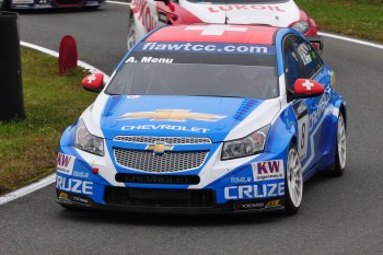 Alain Menu, Chevrolet