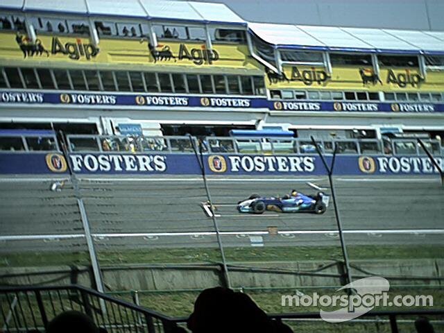 Heinz-Harald Frentzen with Sauber-Petronas