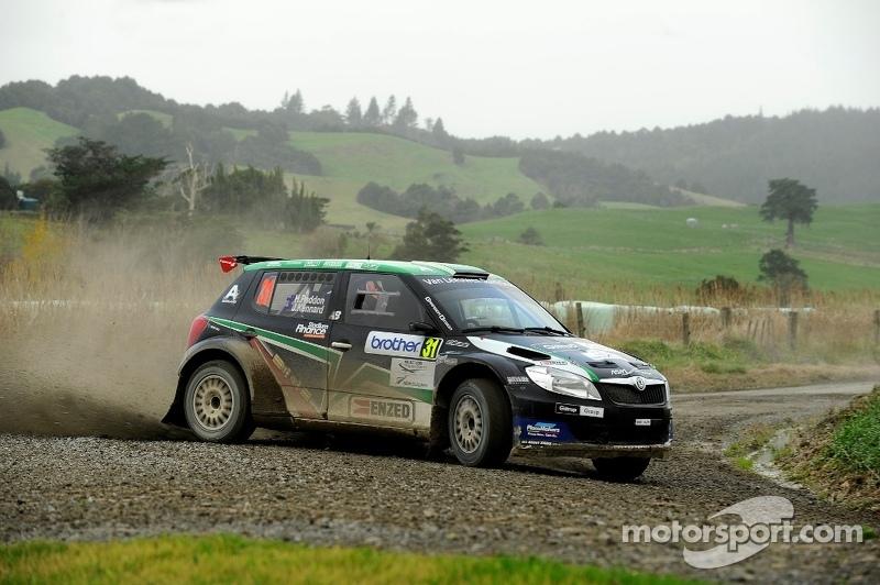 Paddon and Geoff Ridder, Hayden Paddon Rallysport