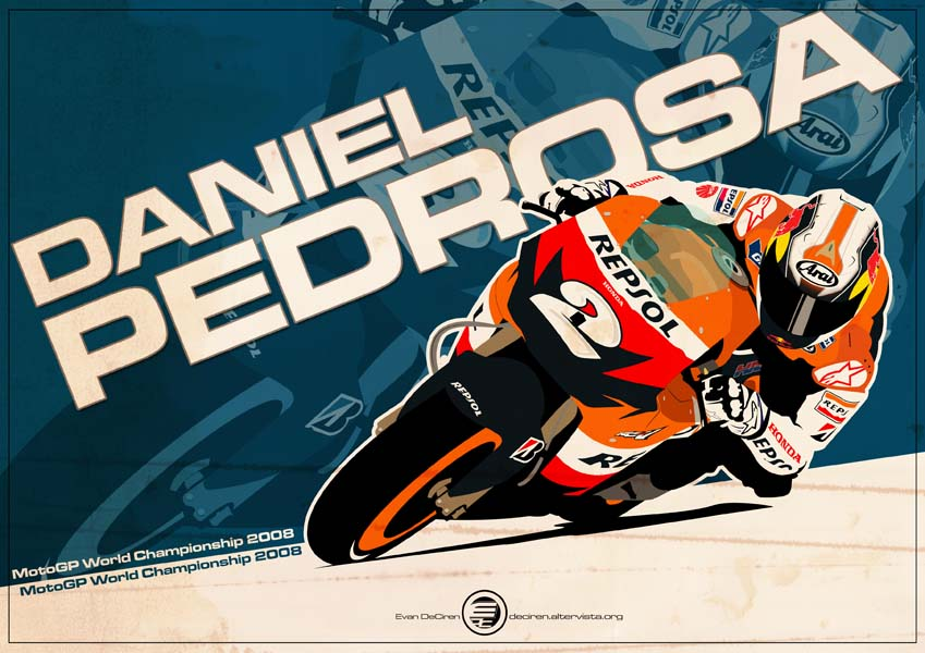 Daniel Pedrosa - MotoGP 2008