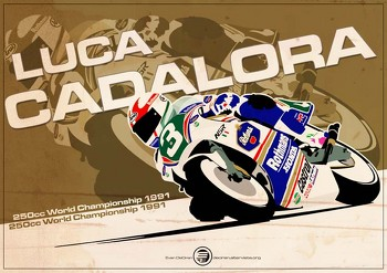 Luca Cadalora - 250cc 1991