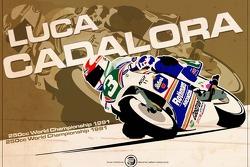 Luca Cadalora - 250cc 1991