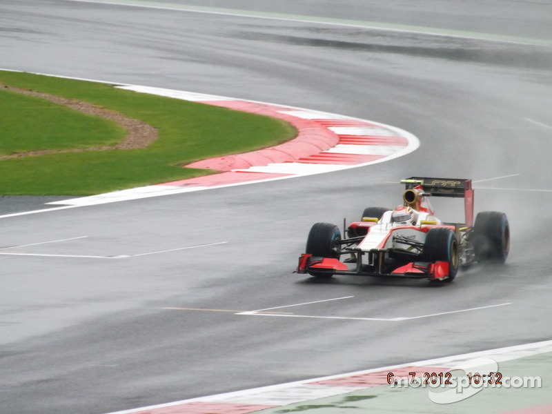 Dani Clos HRT F1 Team