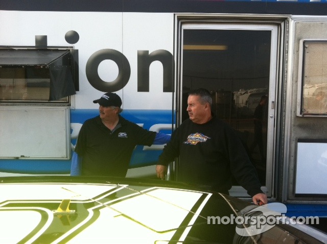 Jeremy Clements Racing Crewman Steve Phillips & Crew Chief Rickie Pearson