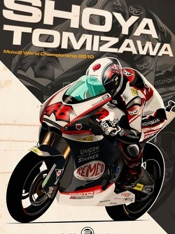 Shoya Tomizawa - Moto2 2010