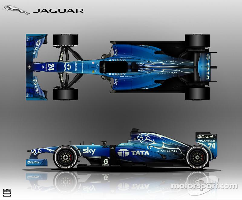 Fanstasy Jaguar R6 livery