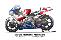 Honda NSR250 - 2000 Daijiro Kato