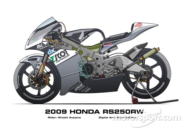 Honda RS250RW - 2009 Hiroshi Aoyama