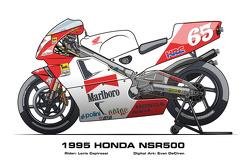 Honda NSR500 - 1995 Loris Capirossi
