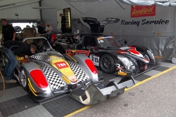 Radical in the paddock