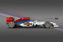 Wiliams Martini F1 Concept