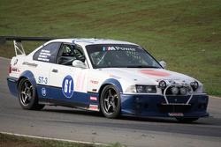 Kurt Busch (#61 Road Shagger Racing BMW) on track