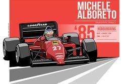 Michele Alboreto - 1985 Nürburgring
