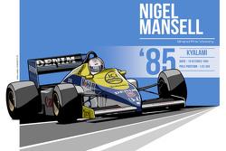 Nigel Mansell - 1985 Kyalami