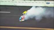 Mark Martin Causes Wreck - Daytona International Speedway 2011
