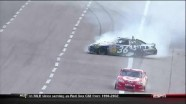 Montoya and Vickers Spun Into - Texas Motor Speedway 2011